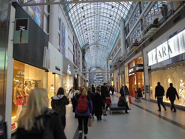 eaton center - shopping mall